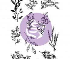 Набор акриловых штампов Iron Orchid Designs Decor Clear Stamps, Sweet Sprigs
