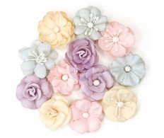Набор цветов от Prima Marketing, Lavender Paper Flowers Haydee