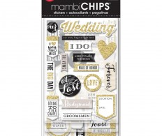 Чипборд Me & My Big Ideas Chipboard Value Pack Our Wedding