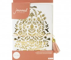 Блокнот-тревелбук American Crafts Journal Studio Kit, Enchanted By Crate Paper