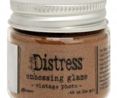 фото Пудра для эмбоссинга Tim Holtz Distress Embossing Glaze, Vintage Photo
