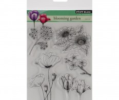 фото Набор штампов Penny Black Clear Stamps Blooming Garden