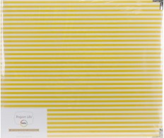 Альбом Project Life D-Ring Album 30х30см, Kraft Stripes