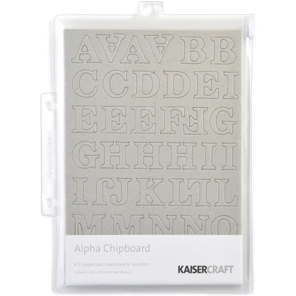 Чипборд Kaiser Craft Chipboard Alphabet (CB107)