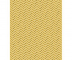 Папка для тиснения Sizzix Texture Fades A2 Embossing Folder, Chevron By Tim Holtz