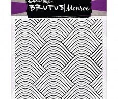 Штамп Brutus Monroe Clear Stamps , Wave Background