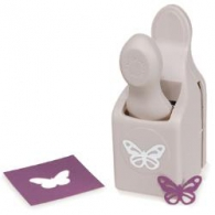 Дырокол Martha Stewart Double Punch Butterfly Фигурный 1.9х2.9 см (15586781151)