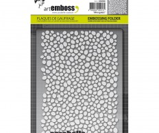 Папка для тиснения Carabelle Studio Embossing Folder,Mini Galets