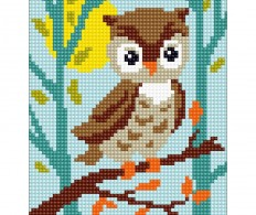 Набор для вышивки Collection D'Art Stamped Needlepoint Kit 20X25cm Owlet
