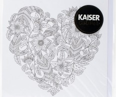 фото Конверт KaiserColour Gift Card W/Envelope 15х15см - Floral Heart