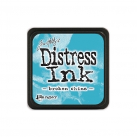 Подушечка с чернилами Ranger Tim Holtz Distress Mini Ink Pad 3х3 см Broken China (789541039877)