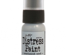 Краска Tim Holtz Distress Paint 30 мл Weathered Wood (TDD - 36524)