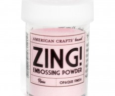 фото Пудра для эмбоссинга American Crafts Zing! Opaque Embossing Powder - Rose