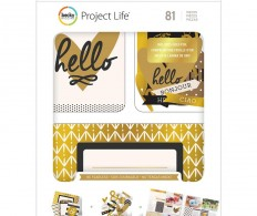 Карточки Project Life Value Kit , Be Fearless W/Gold Foil Treatments