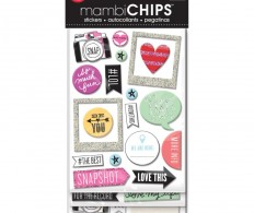 Чипборд Me & My Big Ideas Chipboard Value Pack , Insta Love