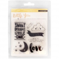 Набор штампов Little You Clear Acrylic Stamps