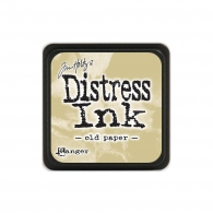 Подушечка с чернилами Ranger Tim Holtz Distress Mini Ink Pad 3х3 см Old Paper (789541040057)