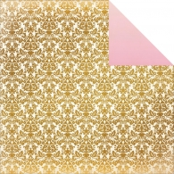 Лист бумаги 30х30см All That Glitters Double-Sided Cardstock -Twinkle