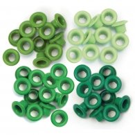 Люверсы от We R Memory Keepers - Eyelets Standard - Green
