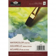Блокнот для акварели Royal Langnickel Essentials Watercolor Artist Paper Pad 12.7х17.8 см 15 л (090672228192)