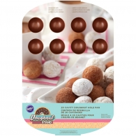 Форма для выпечки от Wilton - Copper Colored Doughnut Hole Pan