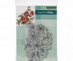 фото Штамп Penny Black Cling Stamps Poinsettia Poem