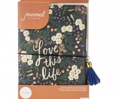 Блокнот-тревелбук American Crafts Journal Studio Kit, Love This Life By Crate Paper