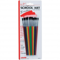 Набор кисточек LINZER Pony Hair School Art Brush Set 12 шт (77089901801)