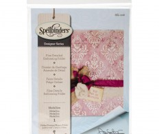 Папка для тиснения Spellbinders Embossing Folder Large, Medallion