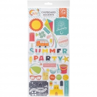 Чипборд Echo Park Paper Summer Party Chipboard Accents (83832210915)