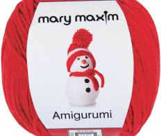 Пряжа Mary Maxim Amigurumi Yarn - Red