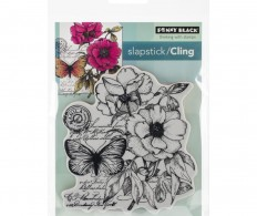 фото Штамп Penny Black Cling Stamps Botanical Notes
