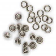 фото Люверсы от We R Memory Keepers - Eyelets & Washers Standard - Nickel