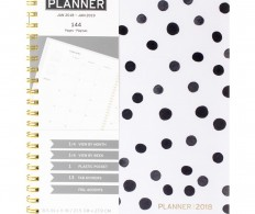 Планер American Crafts - Weekly/Monthly Planner 21X28см