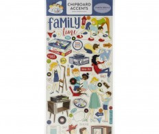 фото Чипборд Family Night Chipboard, Accents