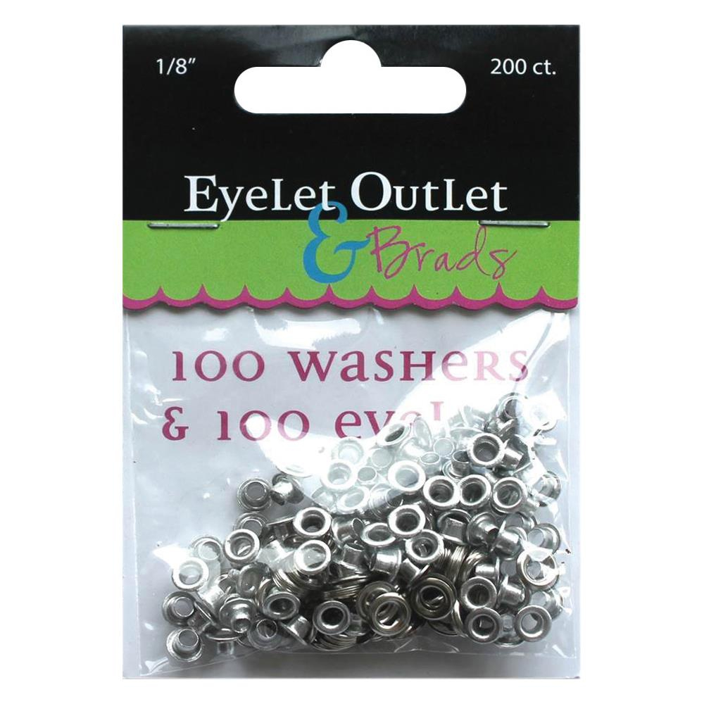 фото Набор люверсов 3мм - Eyelet Outlet Eyelets & Washers