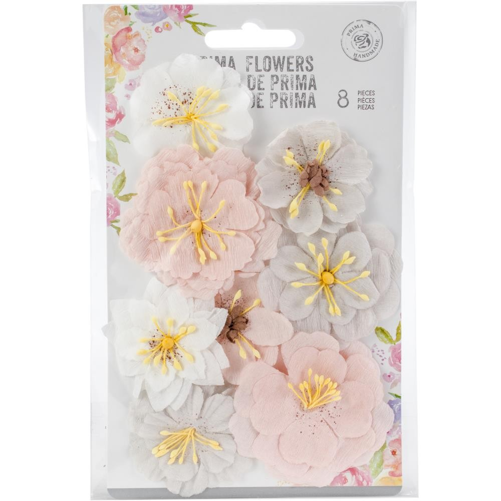Набор цветов от Prima Marketing, Cherry Blossom Paper Flowers Thea