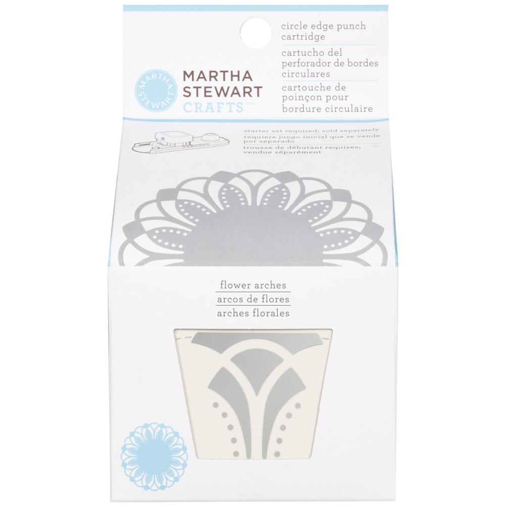 Дырокол Martha Stewart Circle Border Cartridge Flower Arches (15586959444)