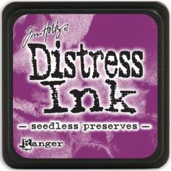 Подушечка с чернилами Ranger Tim Holtz Distress Mini Ink Pad Seedless Preserves (789541040156)