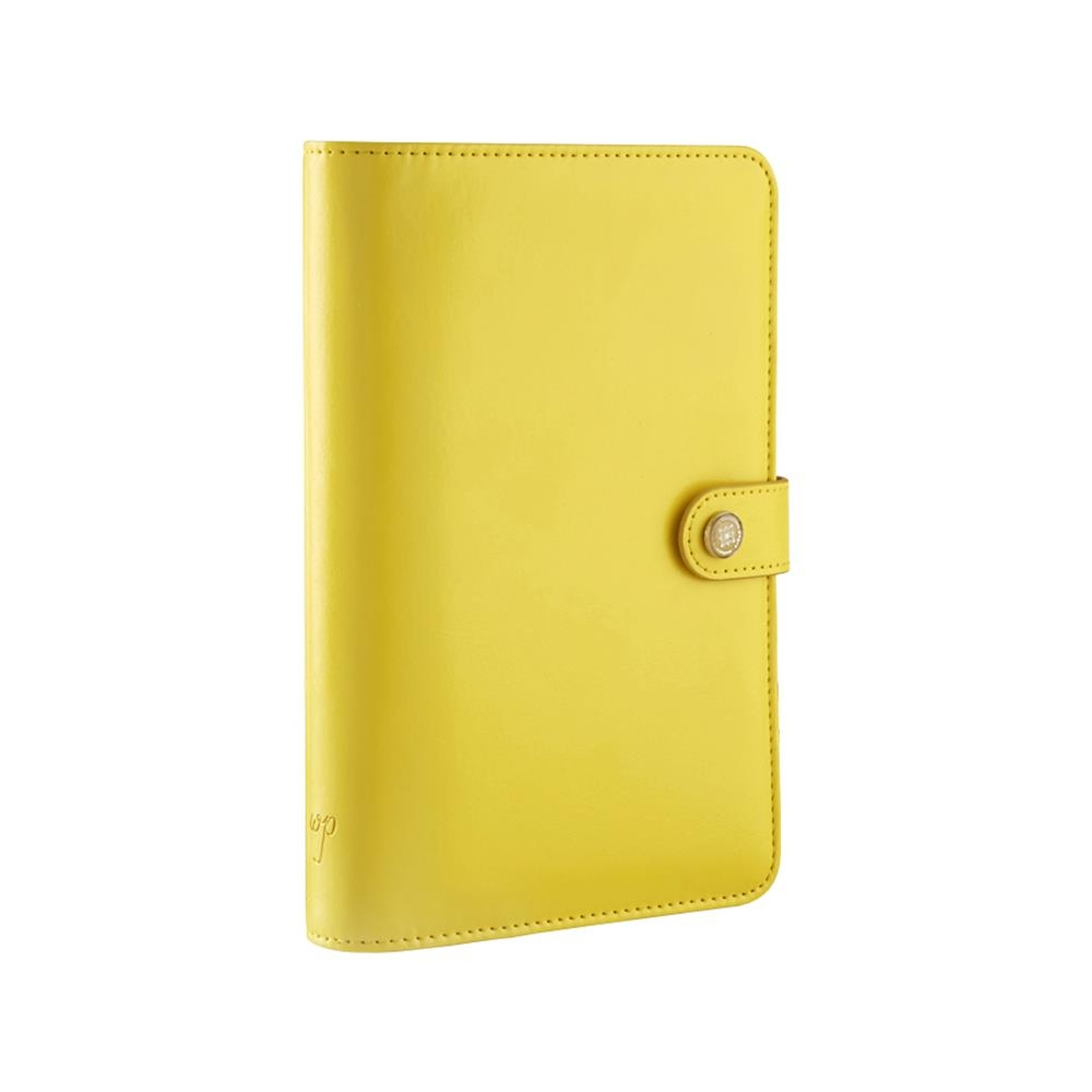 Планнер Webster's Pages Personal Planner Binder Без внутреннего наполнения 20х13 см Желтый (799456076645)