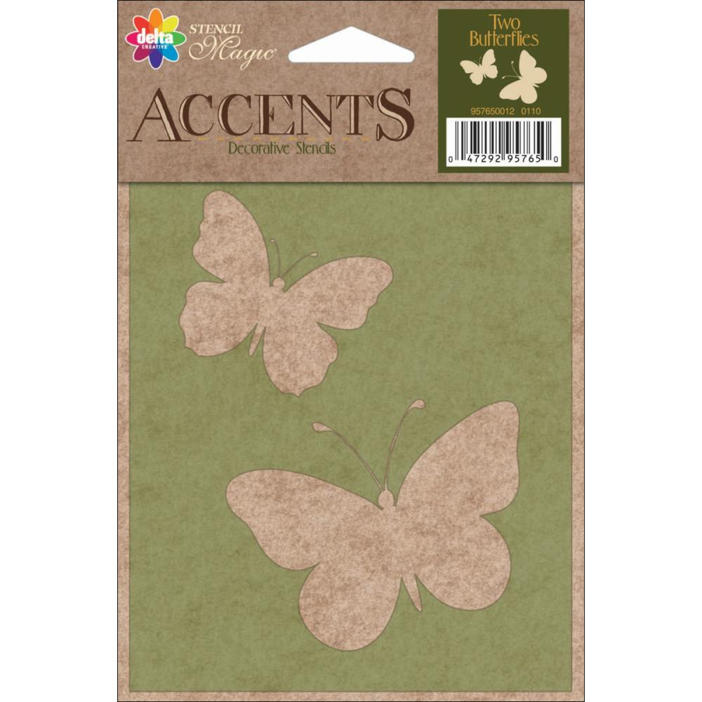 Трафарет Delta Stencil Magic Accents 4 15х11 см (95765)